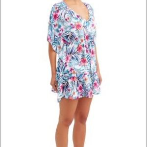Blue Star Swimsuit Coverup